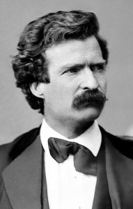 MARK TWAIN AT THE INSTITUTE