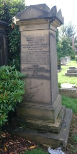 Dr Dooley's grave in Toxteth Park Cemetery