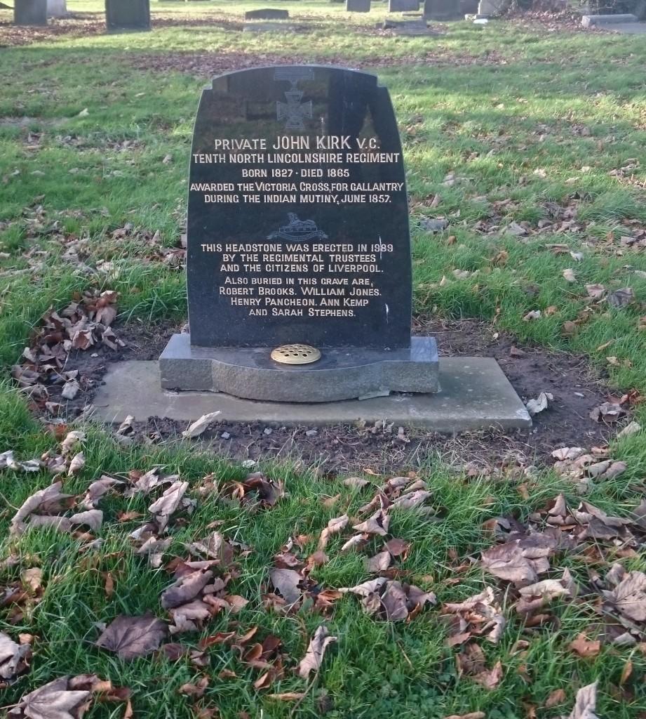 john kirk grave anfield cemetery