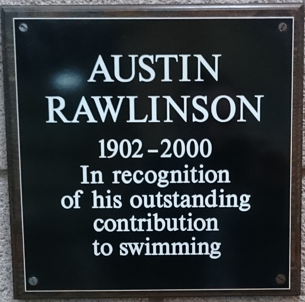 austin rawlinson plaque garston sports centre