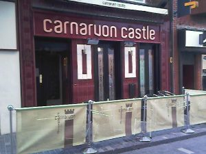 SUICIDE IN THE CARNARVON CASTLE