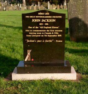 John Jackson cricketer