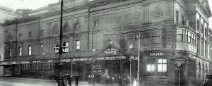Orginal Royal Court destroyed by fire in 1933