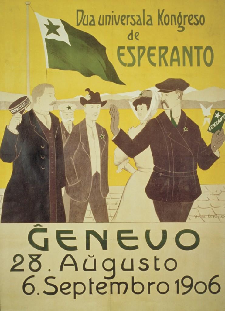 esperanto congress poster