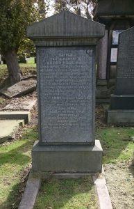 Willam Moss Grave Anfield cemetery Garonne sinking victim (1)