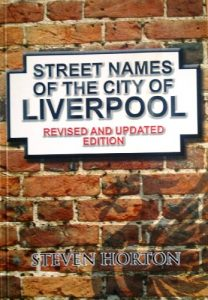 BOOK COVER Street Names of the City of Liverpool (2011 Revised & updated edition