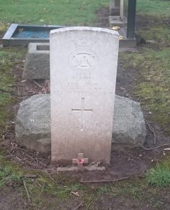 Vincent Jones grave Allerton cemetery